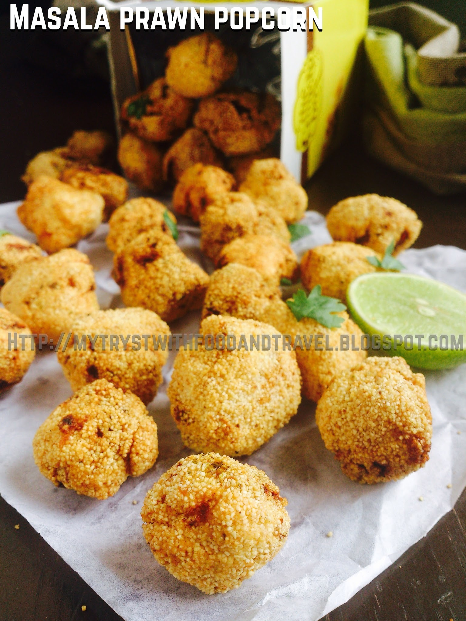 Masala Prawn Popcorn Recipe
