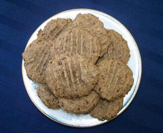 Maple and Flax Cookies