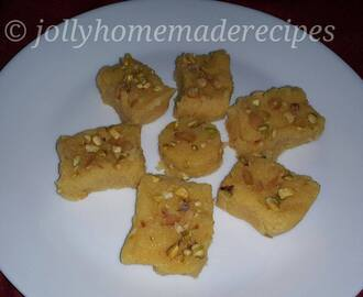 Mango Coconut Fudge Recipe, How to make Mango Coconut Burfi Recipe | Mango Dessert Recipes