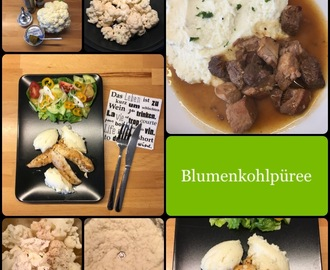 LOW CARB: 😊 Blumenkohlpüree … cremig fein! 👍🏼