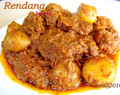 Rendang   Si Menu Favorit