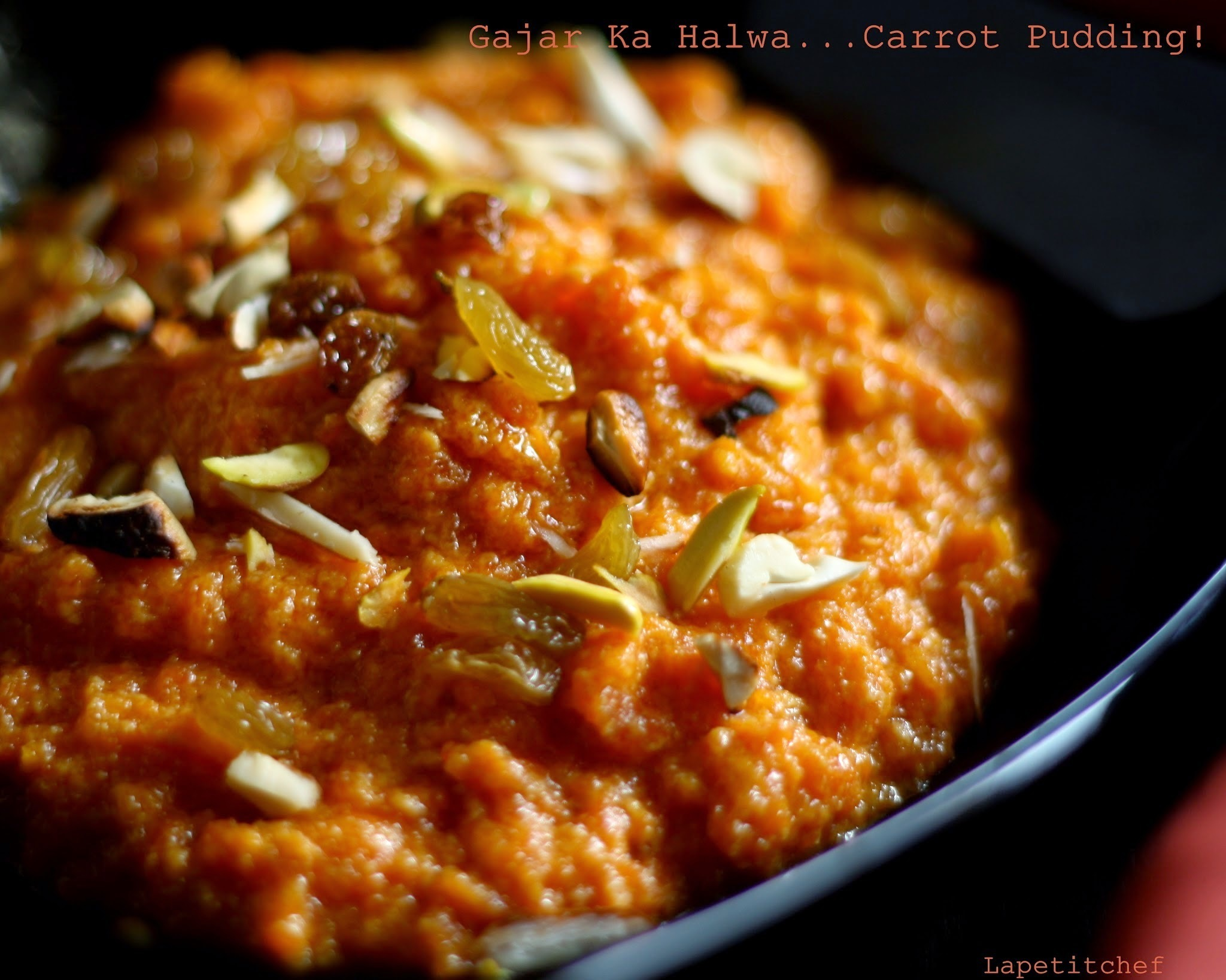 Gajar ka Halwa or Carrot Pudding