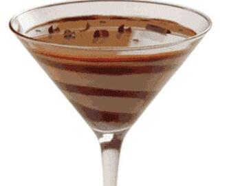 Cocktail de chocolate