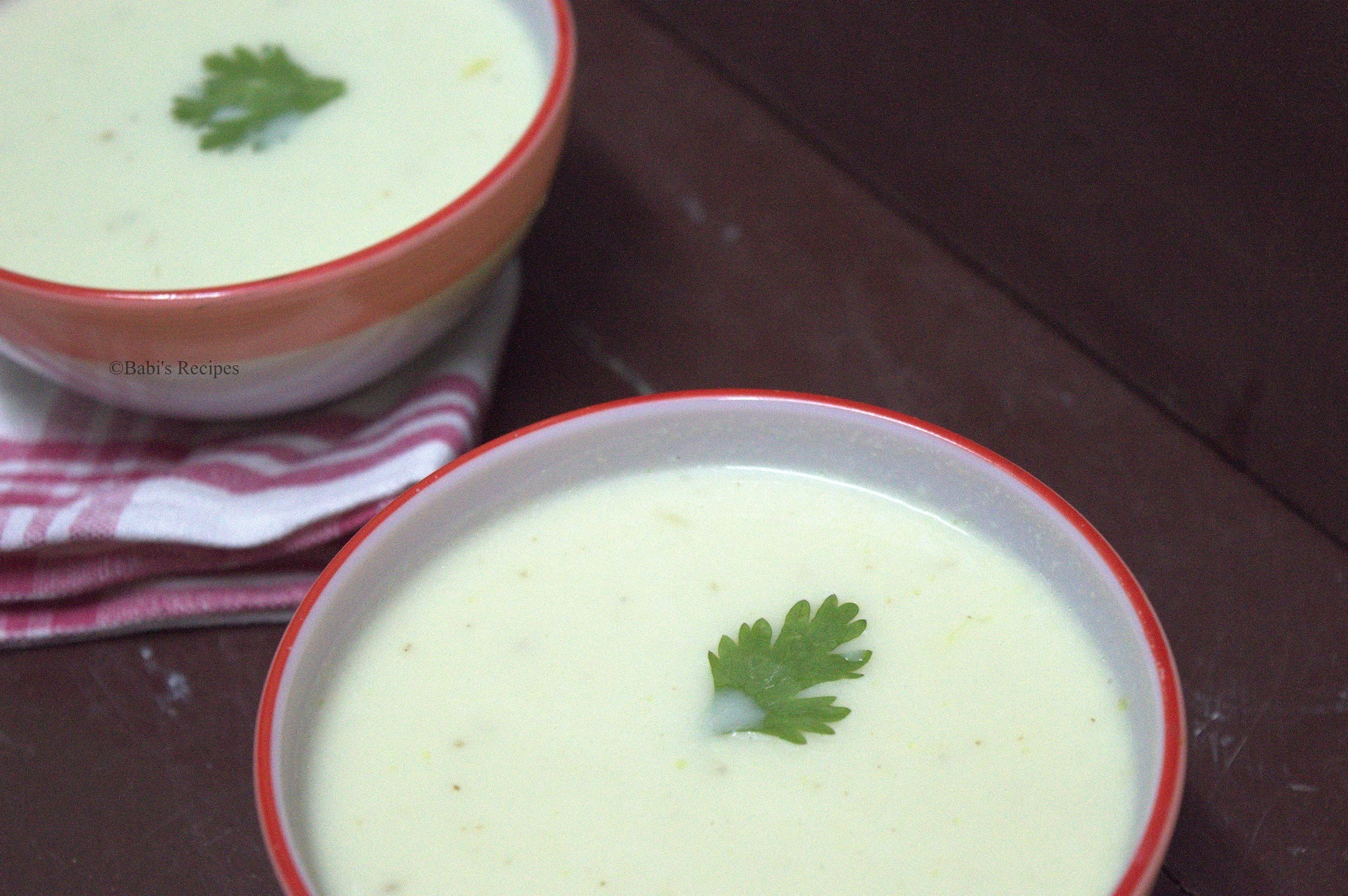 Cauliflower Soup | Healthy Low Calorie Soup | Soup Recipe