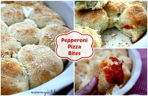 Pepperoni Pizza Bites ~ The Perfect Finger Food!