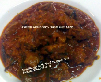 TAMARIND MEAT CURRY OR TANGY MEAT CURRY