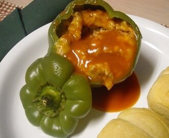 "Stuffed Bell Peppers ""Old Time Favorite"""
