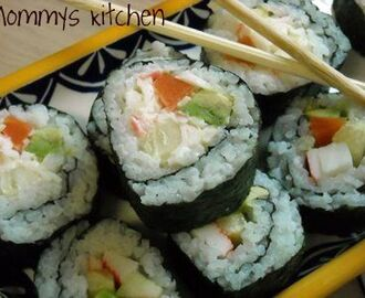 "California Sushi Rolls ~ Make Them Yourself  ""It's Easier Than You Think"""