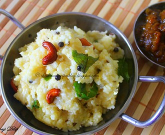 Ven Pongal / Ghee Pongal