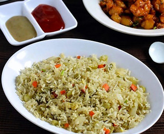 Veg Fried Rice Recipe In Rice Cooker(Indian)-Sunday Lunch Recipes-3