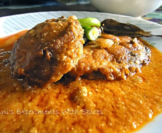 Doi Rui Maachh (Rohu Fish In A Creamy Yogurt Gravy)