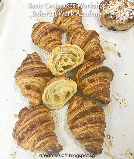 Croissant-making with Bakerz@Work Academy