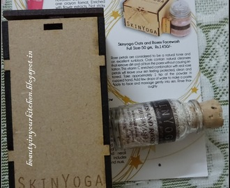 Product Review: Skin Yoga Oats and Roses Facewash
