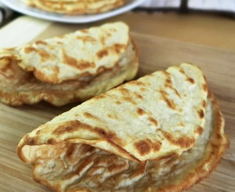 Low Carb Paleo Tortillas with Coconut Flour (3 Ingredients)