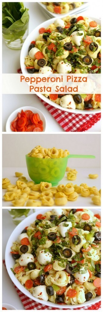 Pepperoni Pizza Pasta Salad