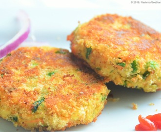 Foxtail millet vegetable burger patties