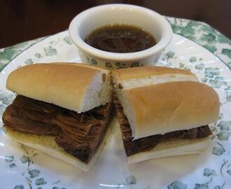 Crock Pot Beef Sandwiches Au Jus
