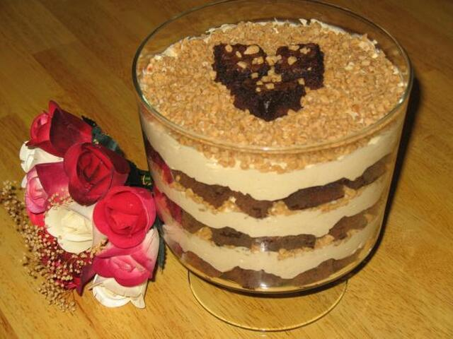 Pampered Chef Double Chocolate Mocha Trifle