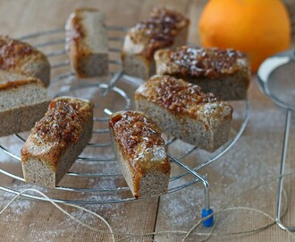 Mini plumcake all'arancia (senza glutine e vegan) | Mini orange loaf cakes