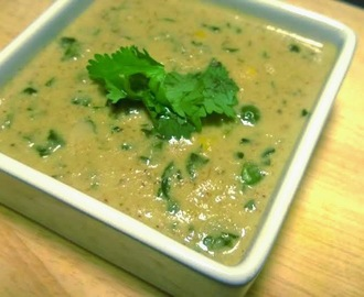 Methi Mutter Malai Corn Gravy