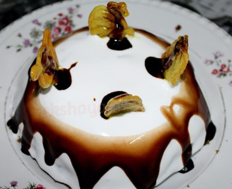 Chocolate Cake with Jalebi Crust