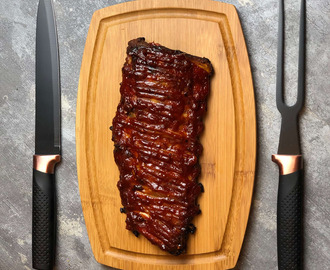 Nate's Jack Daniels Barbecue Rack of Ribs Recipe
