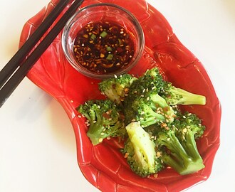 Chinese Style Fire Broccoli