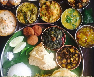 Bengali Vegetarian Thali ~ A Splash of Unassuming Nuances And Striking Flavours