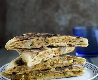 Cheese and Potato Gözleme for #BreadBakers
