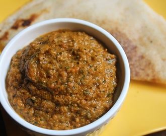Tomato Curry Leaves Chutney Recipe - Thakkali Karuveppilai Chutney Recipe