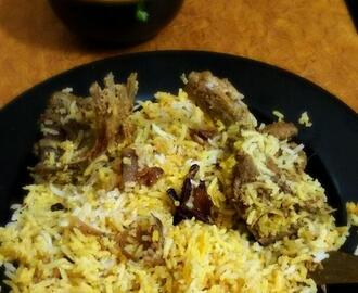 Awadhi  Mutton Biriyani  (easy way to make awadhi biriyani at home)