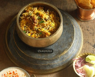 Hyderabadi Chicken Dum Biriyani - Friday Fiesta Anniversary Special.