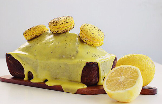 Κέικ με παπαρουνόσπορο και λεμόνι- Lemon and Poppy Seed Cake Recipe,  by Gabriel Nikolaidis and the Cool Artisan!