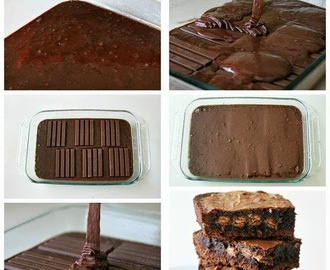 Brownie de Kit Kat
