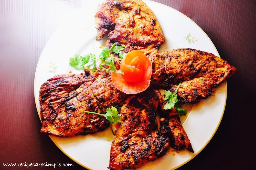 Arabian Grilled Chicken Recipe | Djaj Mashwi | Al-Faham Djaj