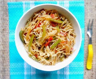 Recipe of Semolina Vermicelli with veggies