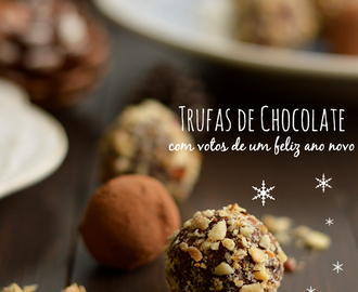 Trufas de Chocolate com frutos secos