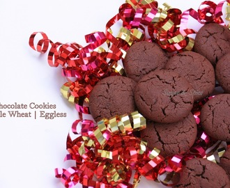 Chocolate Cookies - Whole Wheat | Eggless
