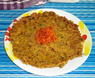 Thalipeeth using bhajani | Maharashtrian thalipeeth recipe