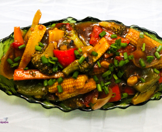 Chinese Mixed Veg Curry