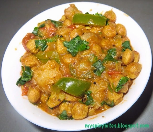Soya Raw Banana Curry