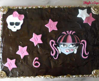 Monster High y muuuuuuchas galletas!