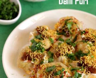 Dahi Puri Recipe | Dahi Chaat | Chaat Recipes