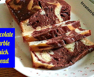 CHOCOLATE MARBE QUICK BREAD RECIPE