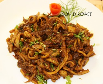 SQUID RECIPES - SQUID ROAST