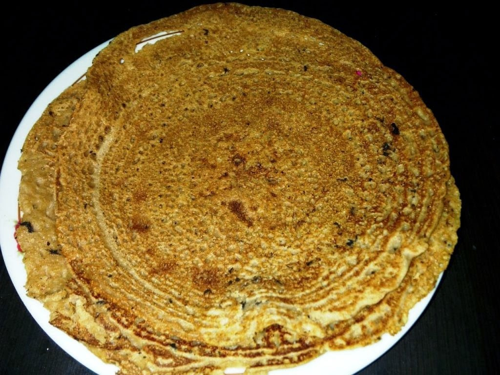 Thinai Maavu Onion Dhosa (Instant Dhosa)