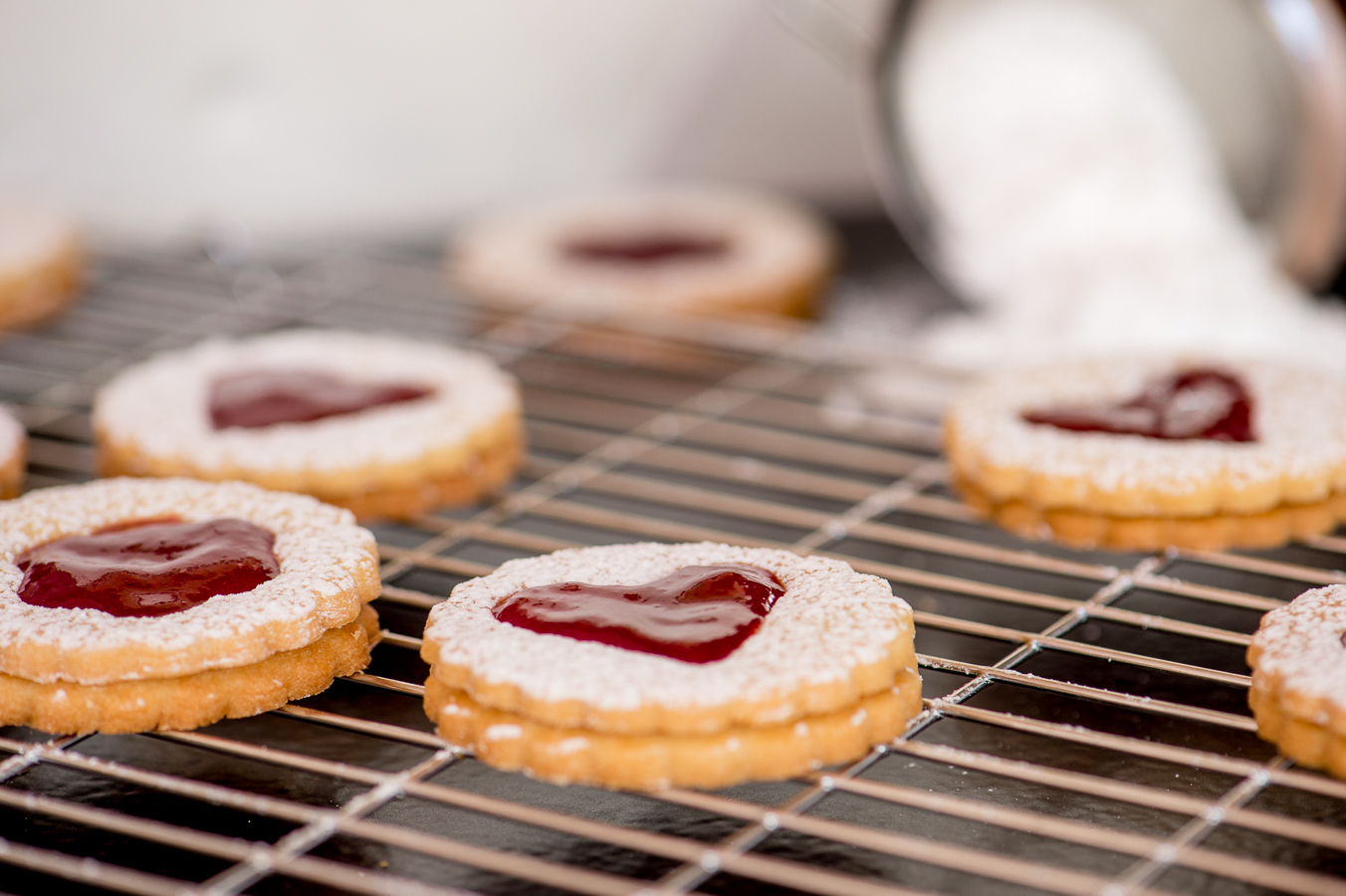 The Sweet Rebellion wrote a new post, Jam Sandwich Cookies, on the site The Sweet Rebellion