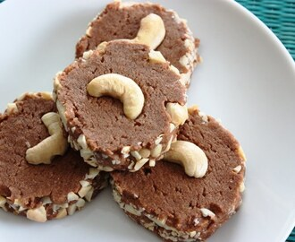 Chocolate Cashew Shortbread