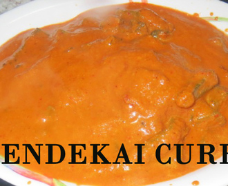 Lady's Finger Coconut Curry (Bendekai Kai rasa)