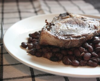 Pastured Pork and Black Beans